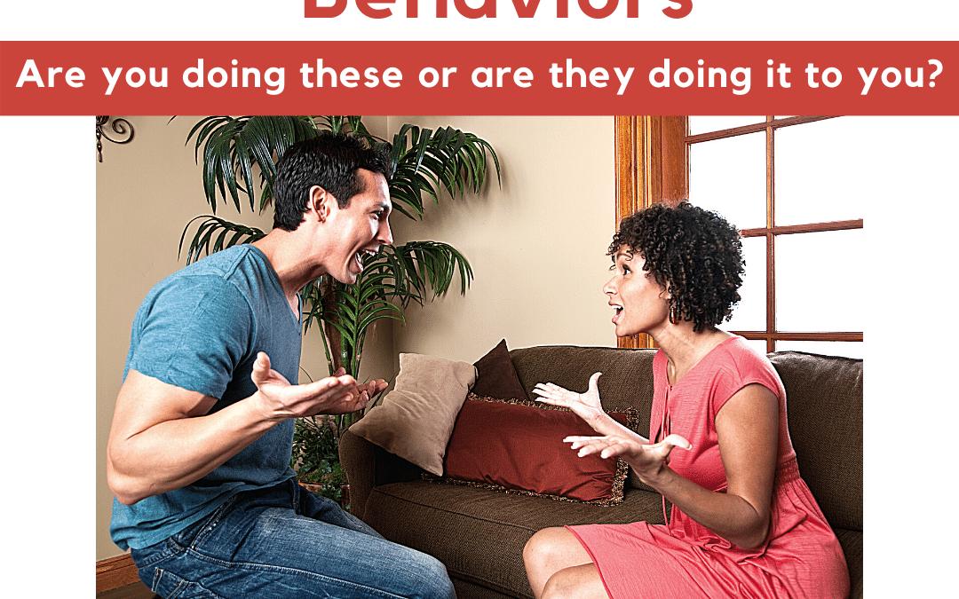Ep 5: 5 Relationship Killing Behaviors